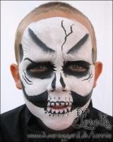 Lonnies-ansigtsmaling-taastrup-bymidte-halloween-05