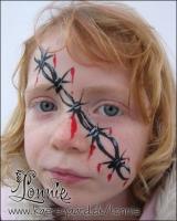Lonnies-ansigtsmaling-taastrup-bymidte-halloween-08