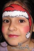 Lonnies-ansigtsmaling-jul-Herlev-Bibliotek-01