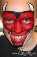 Lonnies-ansigtsmaling-Kraeftens-Bekaempelse-2012-07