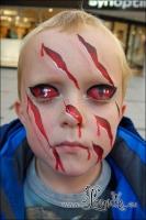 Lonnies-Ansigtsmaling_Halloween-Lyngby-Storcenter-2013-07