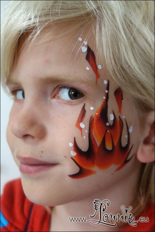 Ansigtsmaling på børn – Lonnies Ansigtsmaling