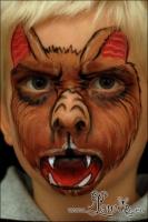 Lonnies_Ansigtsmaling_Vampyrflagermus