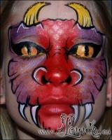Lonnies_ansigtsmaling-Dragehovede2