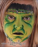 Lonnies_ansigtsmaling-Frankensteins-monster