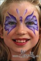 Lonnies_ansigtsmaling-Hurtig-sommerfugl