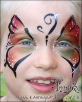 Lonnies_ansigtsmaling-Sommerfugl