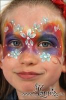 Lonnies_ansigtsmaling-blomstermaske
