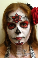 Lonnies-Ansigtsmaling_Sugarskull-red-01