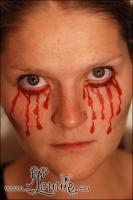 Lonnies_ansigtsmaling-Blodtaarer