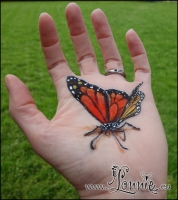 Lonnies_Ansigtsmaling_Monarch-butterfly