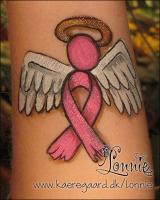 Lonnies_ansigtsmaling-brystkraeftengel