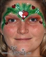 Lonnies_ansigtsmaling-gran-og-hjerte