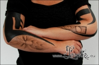 Lonnies_ansigtsmaling-Tribal-tattoos2