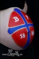 Lonnies_ansigtsmaling-Gravid-Boldklubben-Frem-2