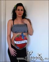 Lonnies_ansigtsmaling-Gravid-Yvonne-Rockabilly-04