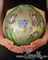 Lonnies_ansigtsmaling-gravid-iris-1