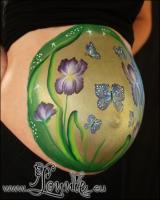 Lonnies_ansigtsmaling-gravid-iris-2