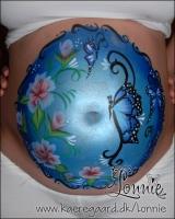 Lonnies_ansigtsmaling-gravid-roser-sommerfugle