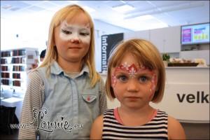 Lonnies-ansigtsmaling_Holte-Bibliotek-2013_02