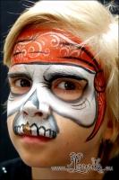 Lonnies_Ansigtsmaling_Pirat-skelet1
