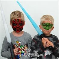 Lonnies_ansigtsmaling-Darth-Maul-og-Yoda
