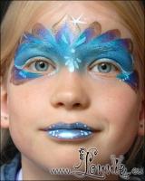 Lonnies_ansigtsmaling-Paafugleprinsesse