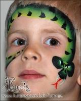 Lonnies_ansigtsmaling-Slange