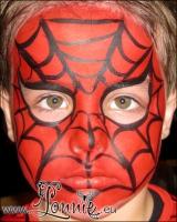 Lonnies_ansigtsmaling-Spiderman