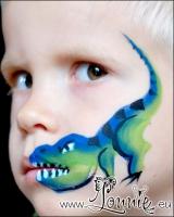 Lonnies_ansigtsmaling-Tyrannosaurus-rex