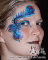 Lonnies_ansigtsmaling-paafuglefjer