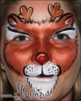 Lonnies_ansigtsmaling-Rudolf