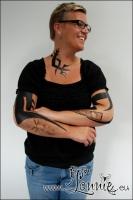 Lonnies_ansigtsmaling-Tribal-tattoos